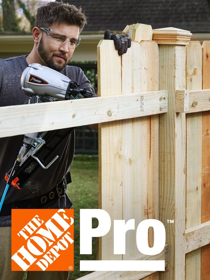 At the home depot we know what pros need and how they