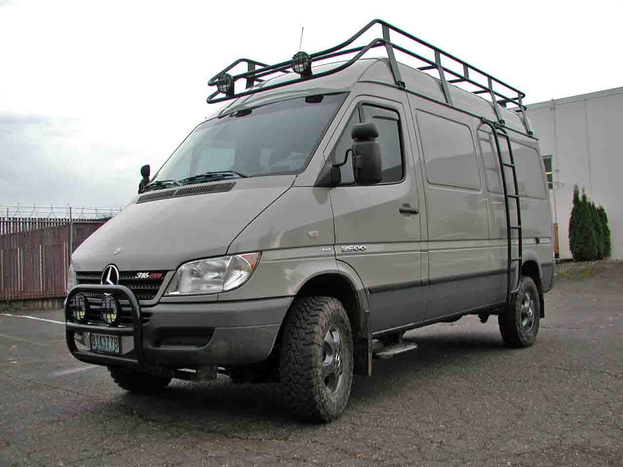 4x4 conversion  like the color of this one too  | Sprinter