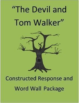 This short story unit contains 60 pages of : Word Wall, vocabulary, and constructed responses. In addition to this, I've included mini-posters with the standards for the classroom, a rubric, and several word wall activities. Explore this spooky short stor
