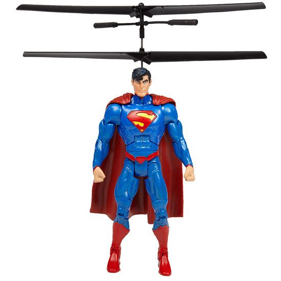 DC Comics Licensed World Tech Toys Superman 3.5CH IR RC Helicopter #techtoys