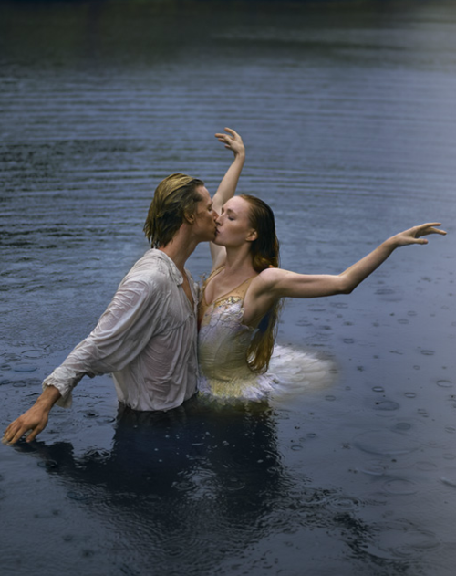 """Gillian Murphy & Ethan Stiefel in an ABT promo for """"Swan Lake"""""""