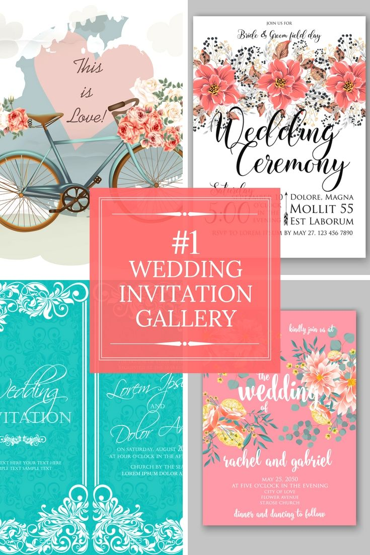 Beautifully Designed Wedding Invitation Cards Design
