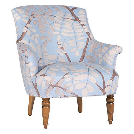 Blossom Armchair From Terrain For 898 95 I Could Reupholster A Thrift Craigslist Find To Get The Same Loo Armchair Dining Room Chairs Modern Patterned Chair