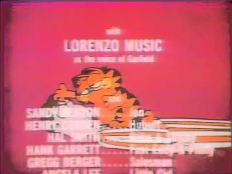 CBS Here Comes Garfield 1983 end credits