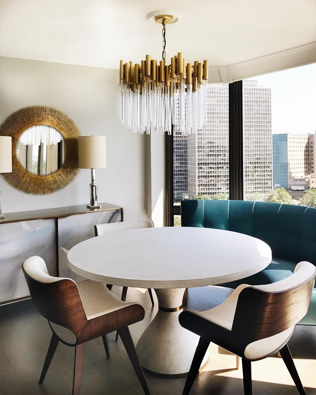 418 Likes 34 Comments  Donna Mondi Donnamondiinteriordesign Pleasing Accessories For Dining Room Table Review