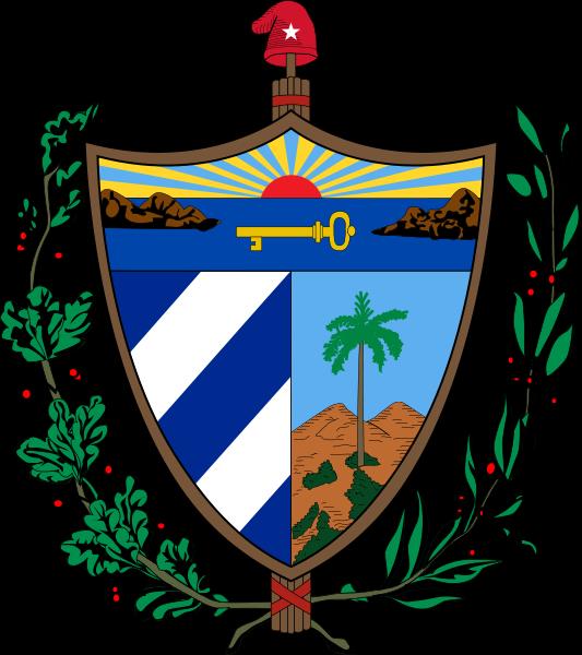 Coat Of Arms Republic Of Cuba Coat Of Arms Cuba Arms