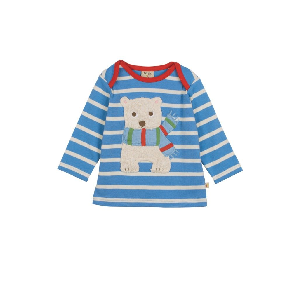 Baby Bobby Applique Top.  #Bargain Price: Was £18.00   Now £7.20  http://tinyurl.com/htsub79  #babyclothes