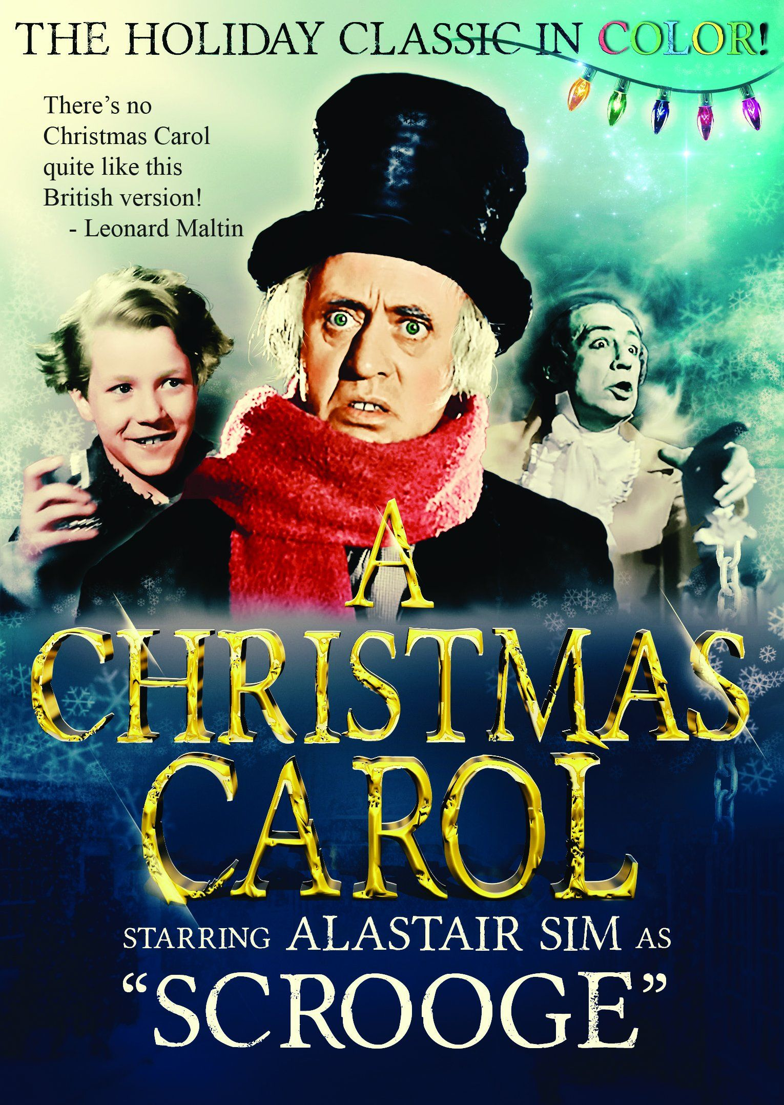 Colorized version of A Christmas Carol by Charles Dickens