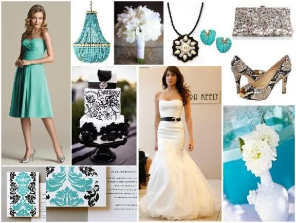 turquoise wedding ideas reference for wedding decoration