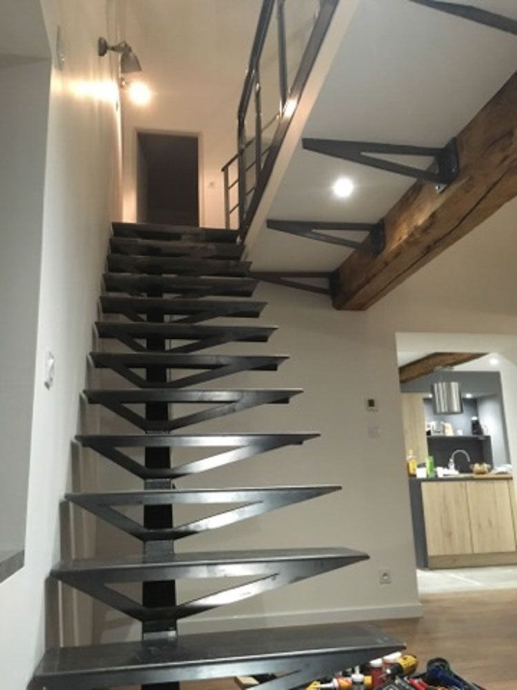 Realisations Novasteel Escalier Metal Escalier Pinterest