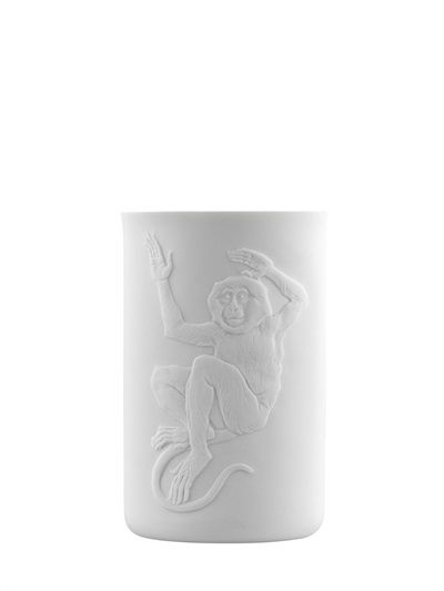 FURSTENBERG 1747 - MONKEY TOUCHÉ COLLECTION PORCELAIN GLASS - LUISAVIAROMA - LUXURY SHOPPING WORLDWIDE SHIPPING - FLORENCE