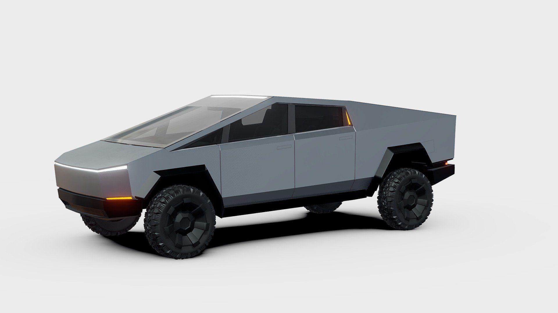 Tesla Cybertruck Duplicated Version 3d Model By Sketchfab Sketchfab 010e01d Sketchfab Tesla 3d Model Model