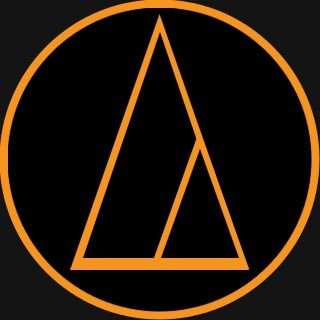 the audio technica logo is another simple logo using only two colors