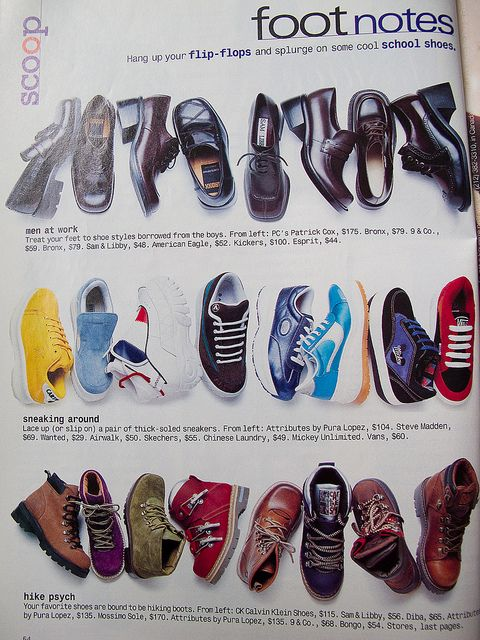 Foot Notes 1997 In 2020 90s Shoes Fashion Shoes Shoes