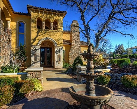 Mediterranean Exterior Design, Pictures, Remodel, Decor and Ideas - page 20