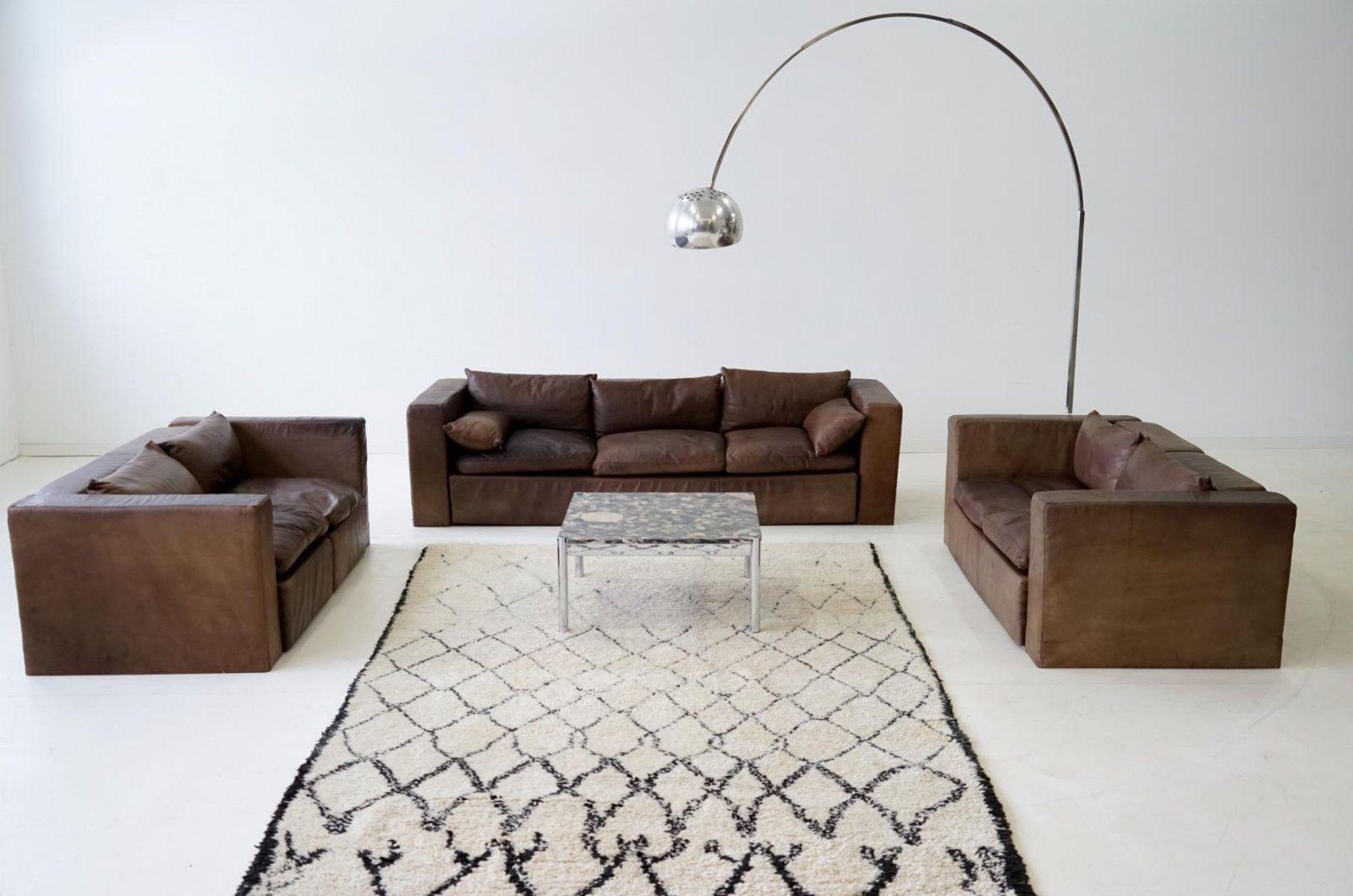 Wunderschön Wohnlandschaft Leder Beste Wahl Sofa 3-sitzer 2-sitzer Couch Sitzlandschaft Sofagruppe