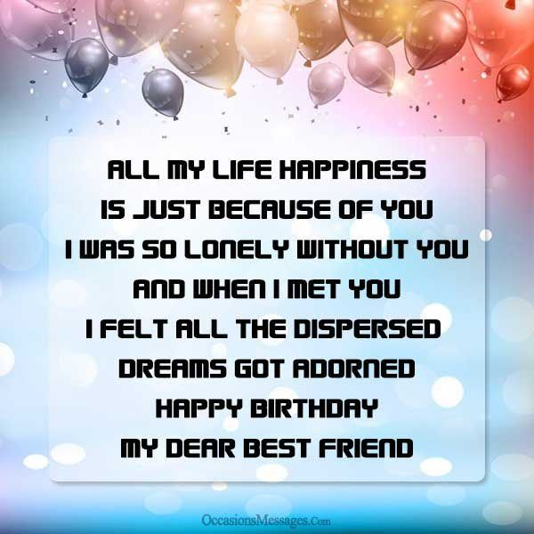 Happy Birthday Wishes For My Best Friend Birthday Pinterest Happy Birthday Wishes For Best Friend