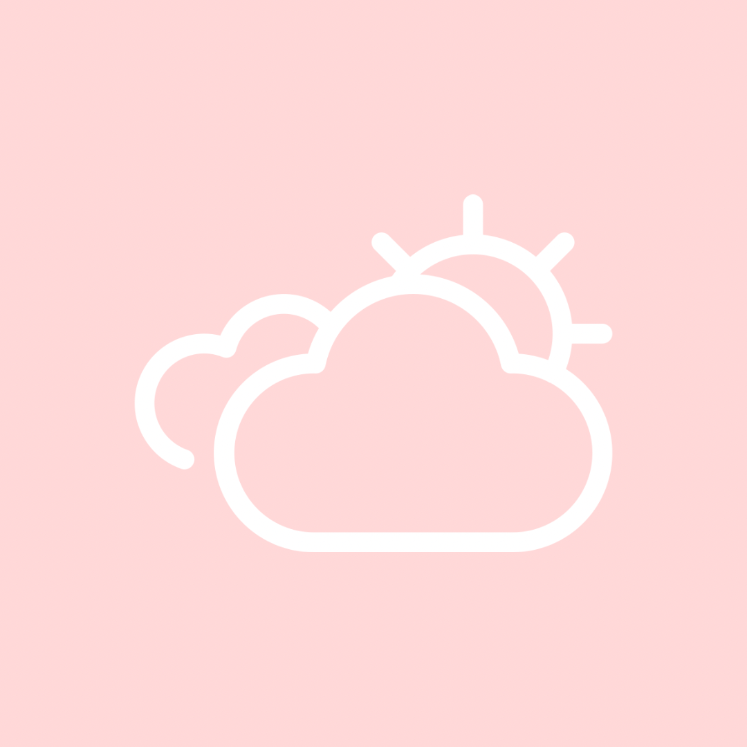 Weather In 2020 Iphone App Design Iphone Icon Cute App