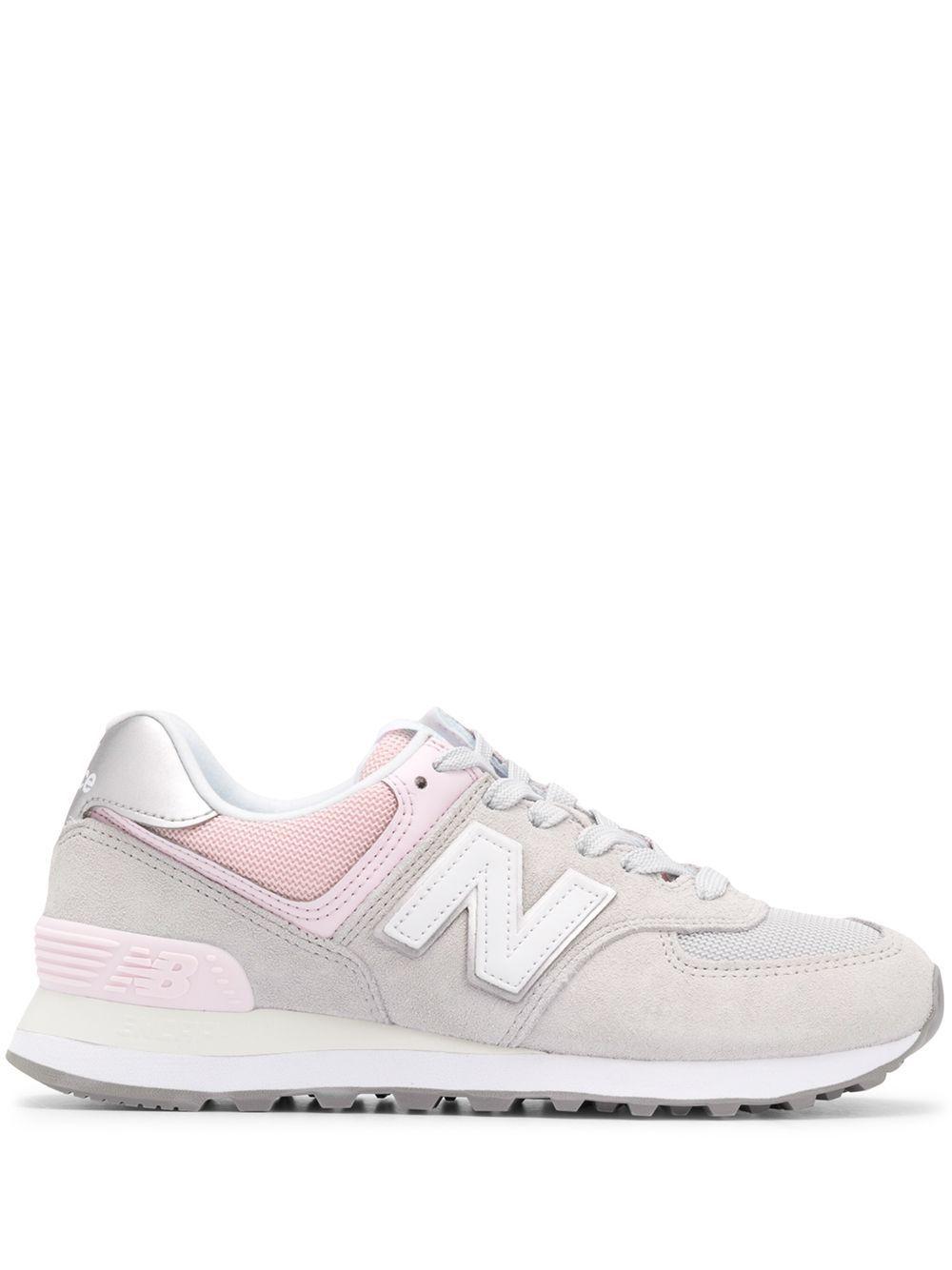 new balance 574 gris rosa