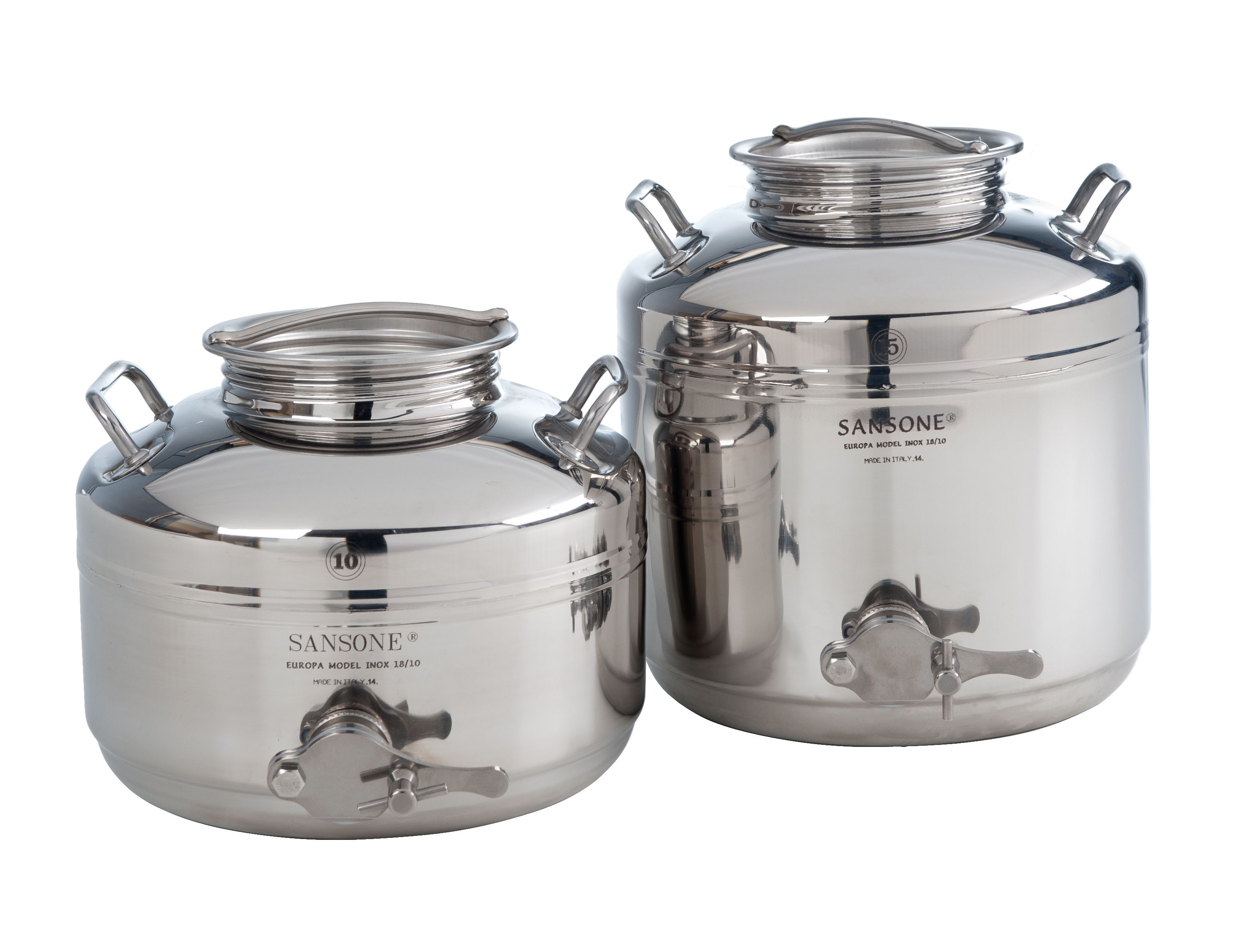 Welded Drums Perfect To Storage Honey With Their Special Tap From Lt 5 To Lt 50 Honey Container Stainless Steel Drum Steel