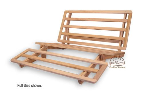 Futon Frame Solid Wood New Tri Fold Futon Lounger Bed Frame Queen