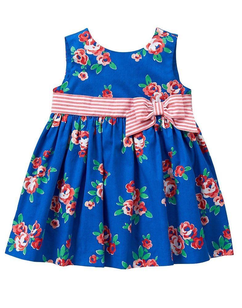 NWT Gymboree Gazebo Party Floral Dress dress 3-6,18 24 M Baby girls Toddler