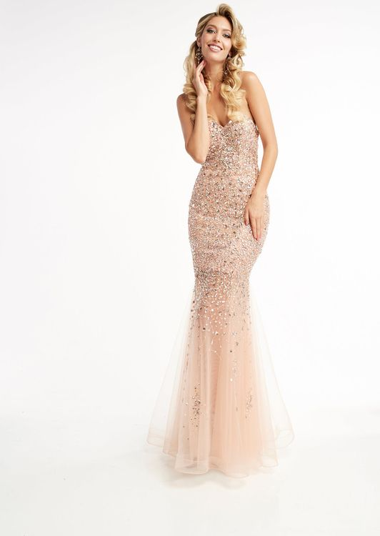 f459b4abe0 Buy the Strapless Ornate Sweetheart Gown 5996 by Jasz Couture at  CoutureCandy.com