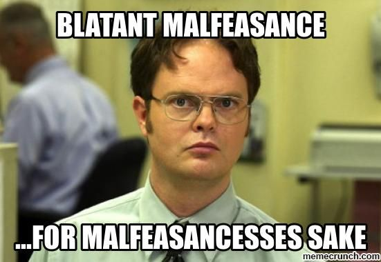 Very Funny Meme Sarcastic : Image result for meme malfeasance thoughts to live by