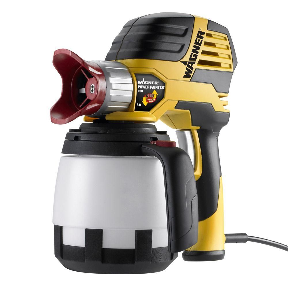 Wagner Power Painter Pro Airless Hand Held Paint Sprayer 0525029 The Home Depot In 2020 Paint Sprayer Wagner Paint Sprayer Paint Sprayer Reviews