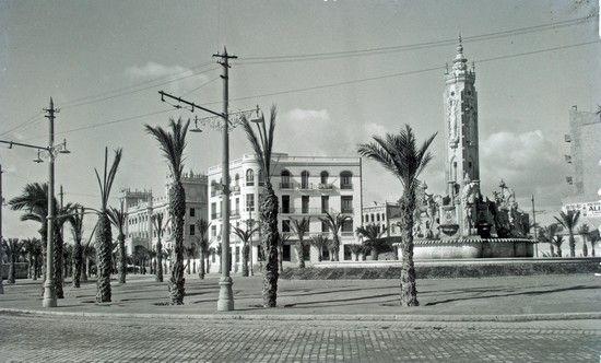 Fondos Gráficos Archivo Municipal Plaza Cataluña Alicante España Fotos Antiguas