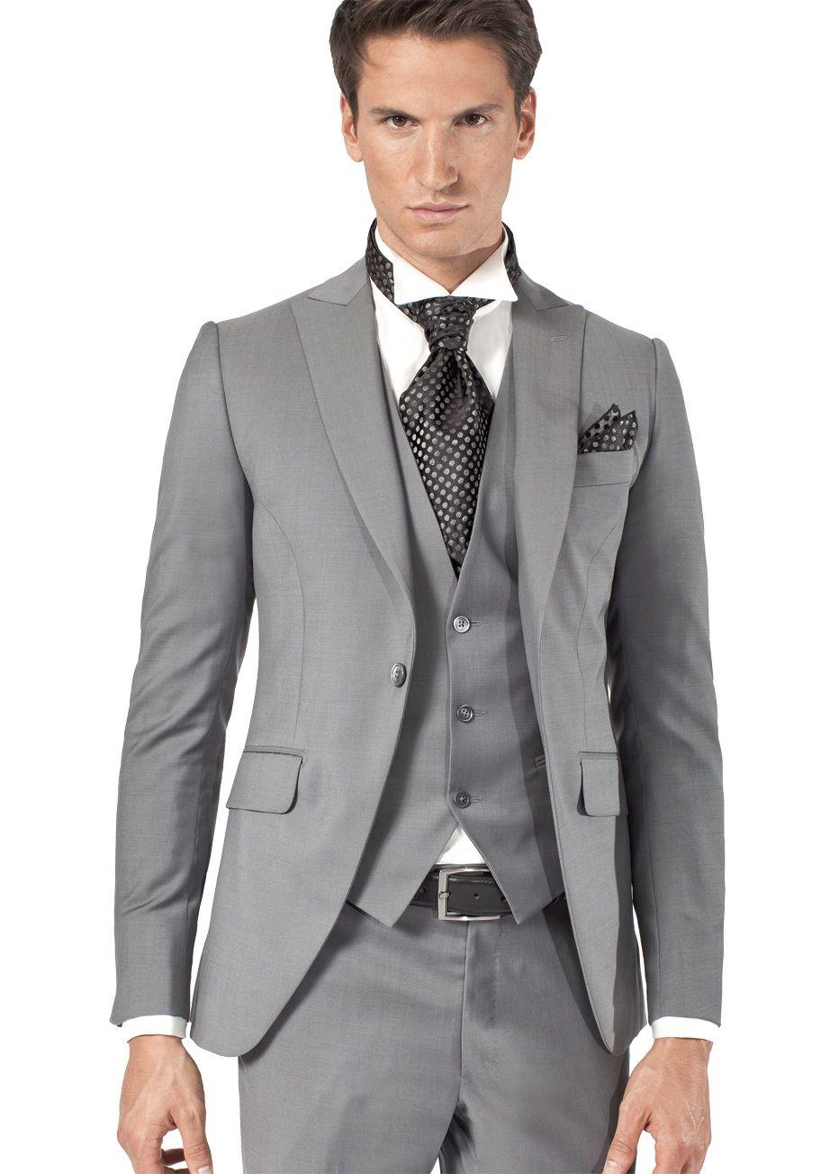 Costume 3 pièces gris clair  d49b0d88172