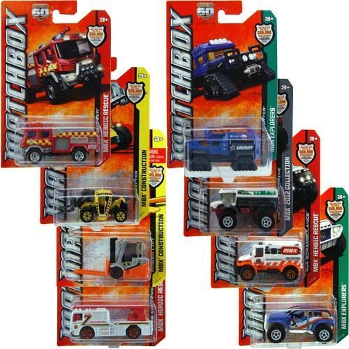 Mattel Matchbox Car Collection Assorted