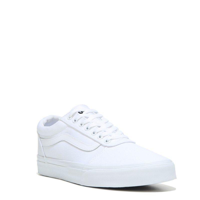 ba55d9307621 Vans Men s Ward Low Top Sneakers (White White) - 10.0 M