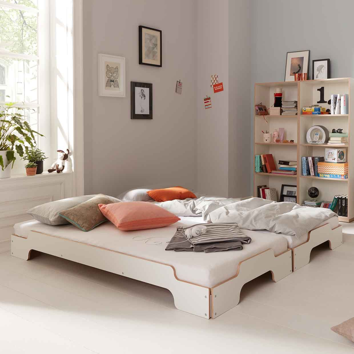 modern bedroom designs%0A modern kids bed  Stapelliege by M  ller M  belwerkst  tten