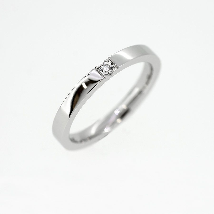 Caress Wedding Band With Diamond In Palladium White Gold Platinum Engagement Ring S Moissanite Engagement Ring White Gold Diamond Wedding Bands Funky Rings