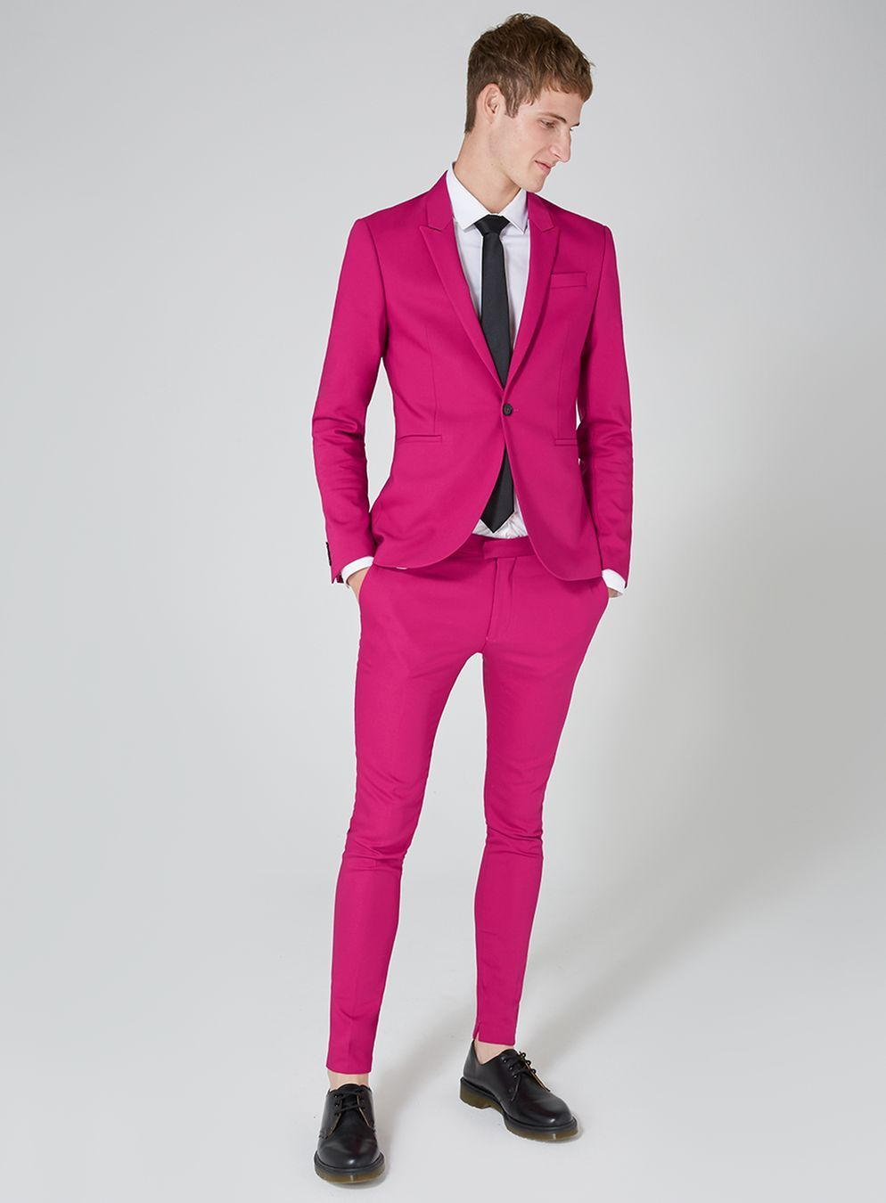 Bright Pink Spray On Suit Jacket | Pinterest | Suit jackets and ...