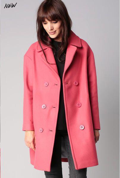 Veste laine femme rose