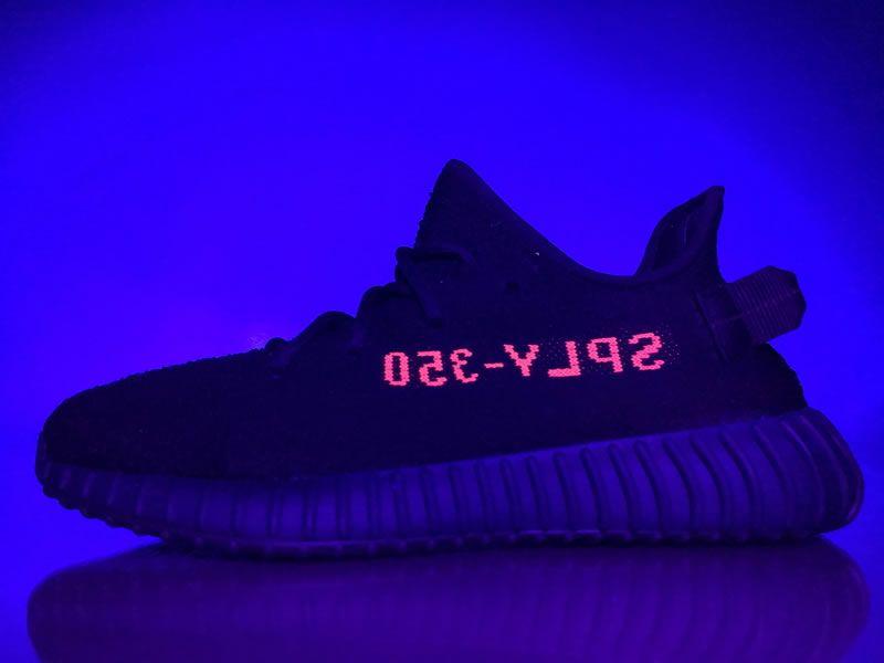 6a02a5ed7d7e Adidas Originals Yeezy Boost 350 V2  Core Black Red  Bred CP9652 ...