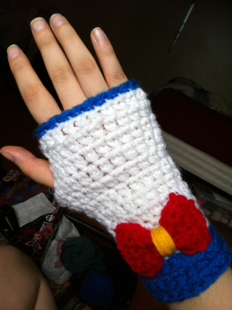 Sailor Moon Fingerless Gloves I Guess I Could Always Just Crochet