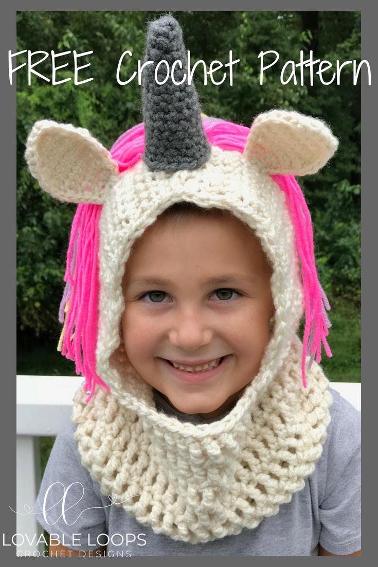Hooded Scarf Crochet Pattern Interesting Design