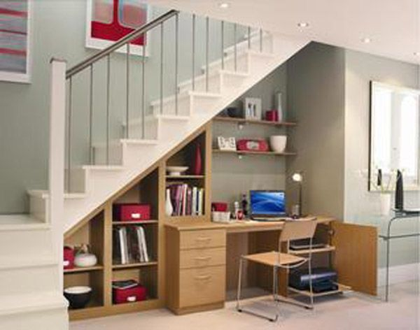 Escritorio Bajo Escaleras Sillas Y Escritorios Muebles Bajo Escaleras Escritorio Bajo Escalera Decoracion De Escaleras Interiores