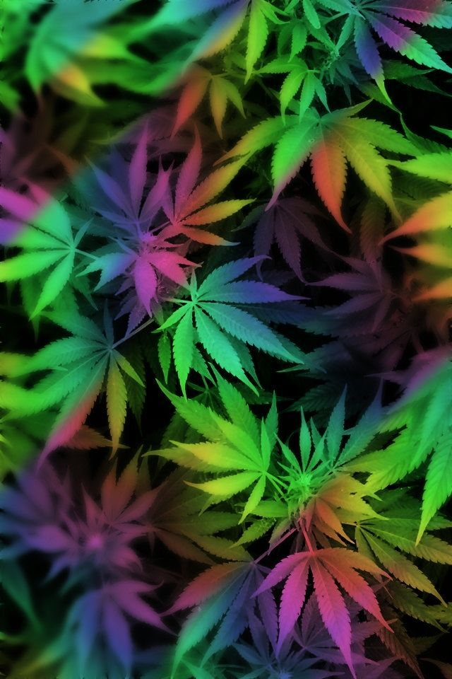 weed rainbow by: Nany Mcht ♥ | wallpapers | Pinterest ...