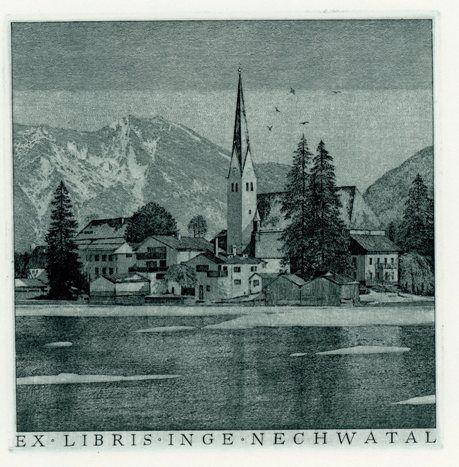 Ex libris of Inge Nechwatal