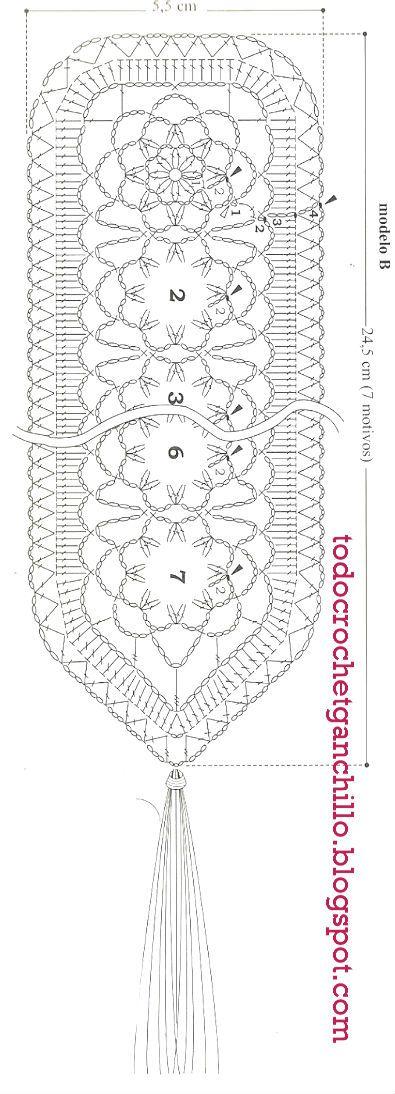 Para tejer estos delicados marcadores de libros con crochet vas a ...
