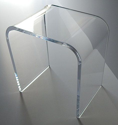 Acrylic End Table 18 High X 16 Long 12 Wide 3 4 Thick
