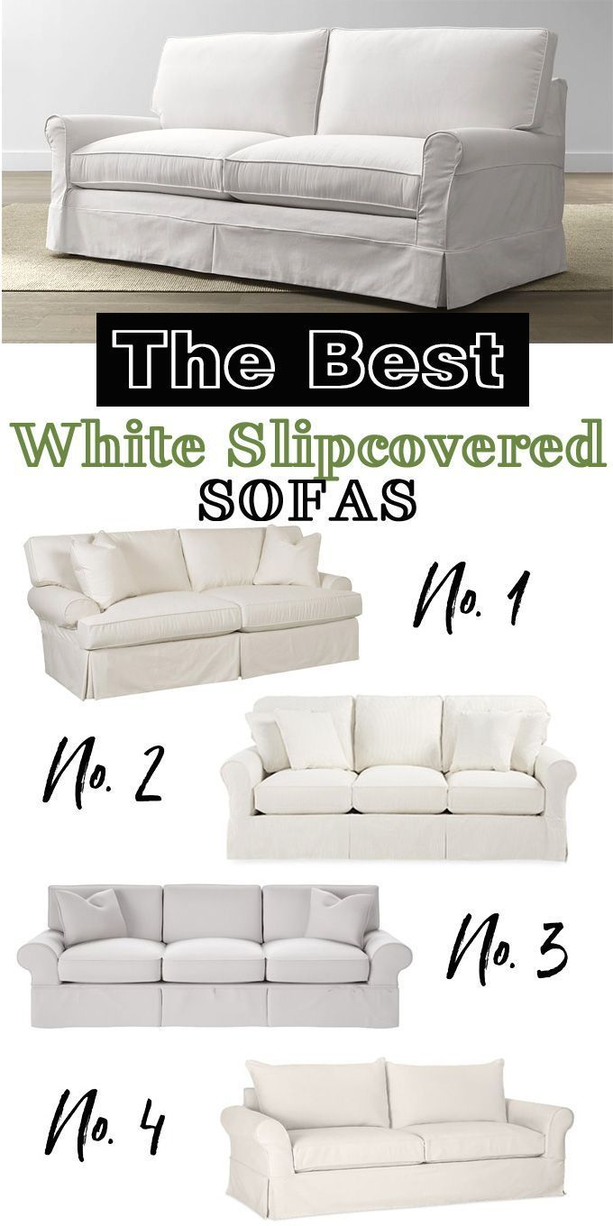 The best white slipcovered sofas | SUH ~ Household Goods in ...