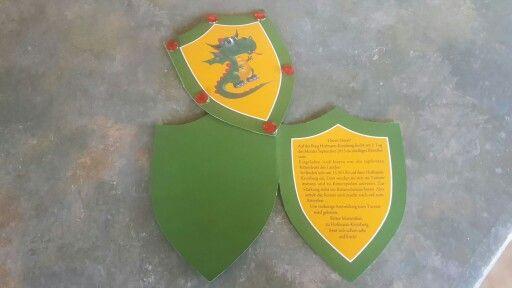 Einladung Zum Ritter Geburtstag Als Wappen