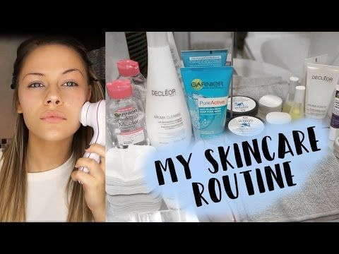 My Skincare Routine Oily Skin Youtube Facial Skin Care Routine Skin Care Routine Oily Skin Care Routine