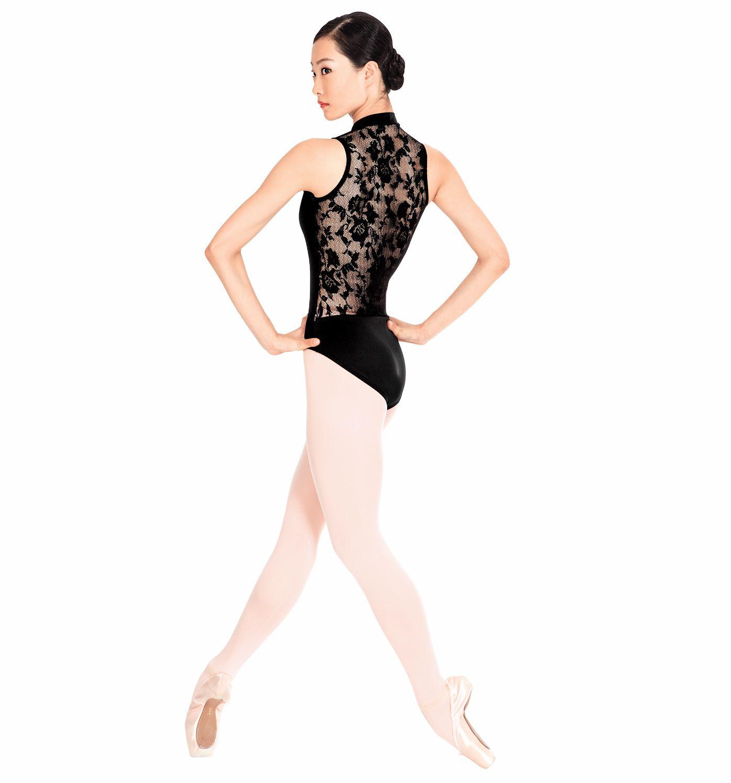 f73953a81d50a Adult Lace Back Tank Leotard - Style Number: N8699 #discountdance #black  #leotard #ballet
