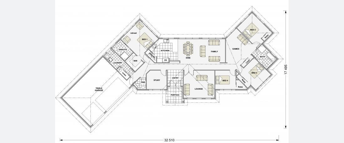 Stonewood Homes Floor Plans Part - 28: Castle Park 271 - Lifestyle Series | Stonewood